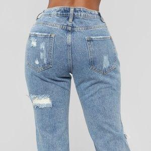 Barrykeny Jeans - Printed Hole Jeans Women (65E8)